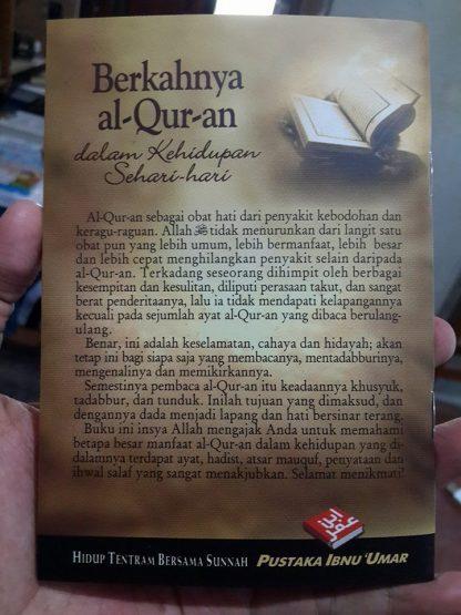 Saku – Berkahnya Al-Qur'An Dalam Kehidupan Sehari-Hari