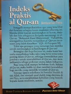 Indeks Praktis Al Quran Berdasarkan Tema
