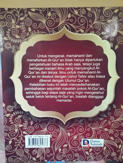 Pengantar Ilmu Tafsir Al Quran