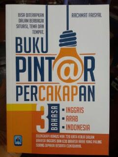 Pintar Percakapan 3 Bahasa Inggris Arab Indonesia