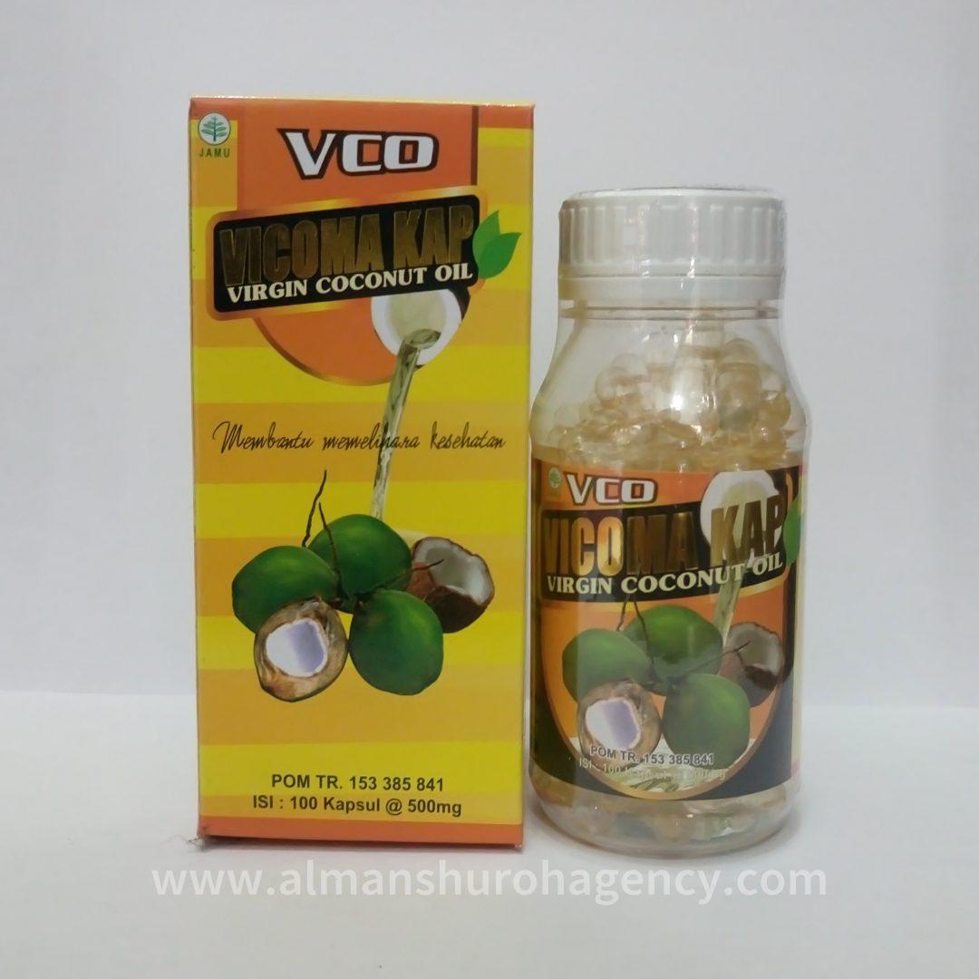Vco Vicoma Kap 100 Kapsul Virgin Coconut Oil 100kapsul Daftar Eza Source